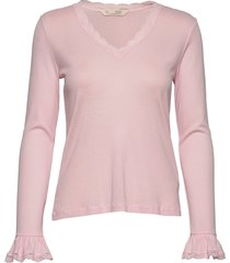 my dearest top t-shirts & tops long-sleeved roze odd molly