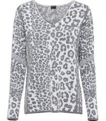 maglione jacquard (bianco) - bodyflirt