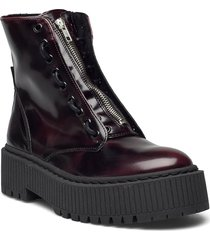 odyl bootie shoes boots ankle boots ankle boot - flat svart steve madden