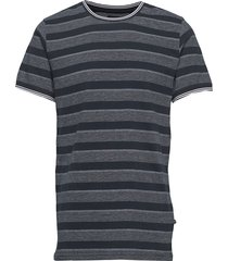 jerstan pattern stripe t-shirts short-sleeved blå matinique