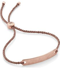 rose gold havana mini friendship bracelet
