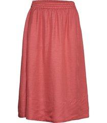 juliet skirt knälång kjol rosa filippa k
