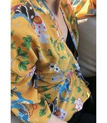 bluzka dragon kimono