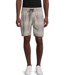 hybrid-print shorts