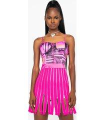 akira this looks speaks mini dress with multiple zippers