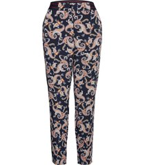 crop leisure trouser casual broek blauw gerry weber