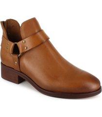 women's garnie harness leather booties women's shoes