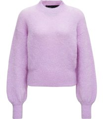 federica tosi lilac mohair blend sweater