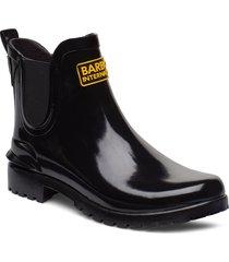 b.intlassenchelsea regnstövlar skor svart barbour