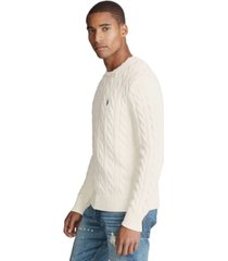 polo ralph lauren men's cable-knit cotton sweater
