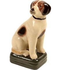 escultura decorativa de porcelana cachorro pepo