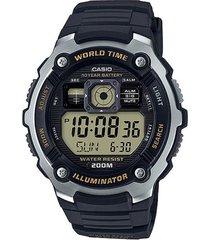 reloj   casio modelo ae_2000w_9av negro