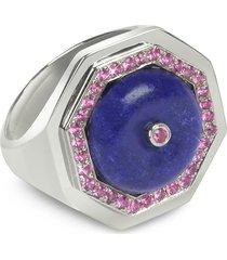 sho london designer rings, lapis lazuli clementina ring