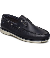 2-eye comfort båtskor skor blå marstrand