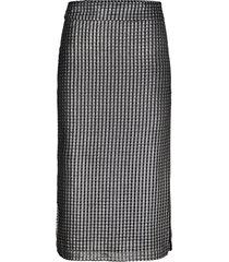 kjol deban silver skirt