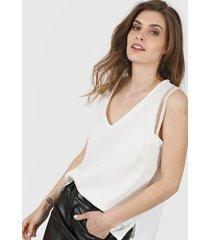 blusa natural vindaloo lino crepe