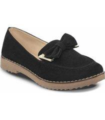 mocasines ashlen negro para mujer croydon