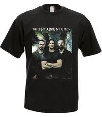 ghost adventures tv series black men's t-shirt tee