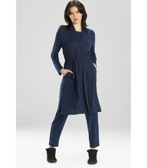 natori calm cardigan wrap robe top, women's, size m