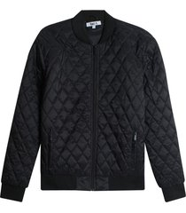 chaqueta acolchada hombre rombo