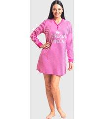 camisola mon amour jersey elastano dream queen rosa - calce regular