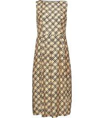 3426 - ony knälång klänning gul sand