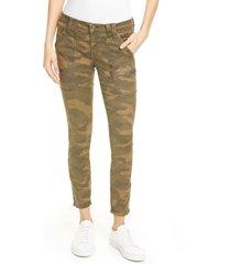 women's joie park skinny pants, size 29 - green