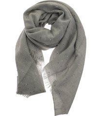 brunello cucinelli cashmere and silk diamond yarn scarf