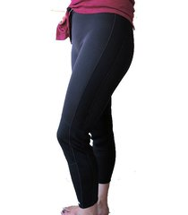 3mm women's neoprene wetsuit pants, cinch drawstring, 7-panel-new