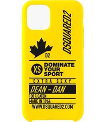 dsquared2 dominate d2 yellow iphone 11 pro case