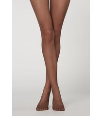 calzedonia 20 denier ultra comfort sheer tights woman brown size 1