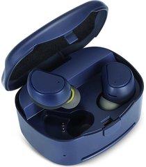 mini audífonos bluetooth inalámbricos música shuua 316t - azul