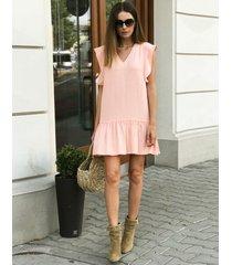 sukienka cara peach