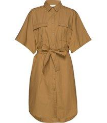 baliagz oz shirt ms20 knälång klänning beige gestuz