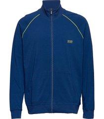 mix&match jacket z sweat-shirt tröja blå boss