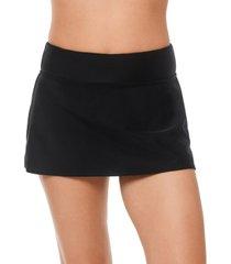 reebok swim skirt women's swimsuit