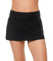 reebok swim skirt women's swimsuit