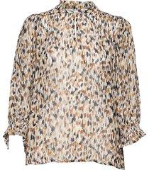 hoaspw bl blouse lange mouwen bruin part two