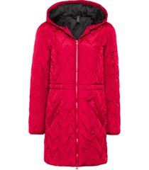 giacca con trapuntatura a zigzag (rosso) - rainbow