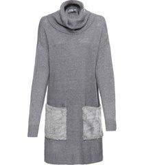 maglione lungo (grigio) - rainbow