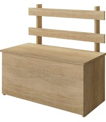 caixa baú multiuso cl01 carvalho fellicci móveis