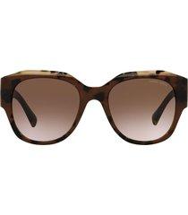 giorgio armani giorgio armani ar8140 brown tortoise sunglasses