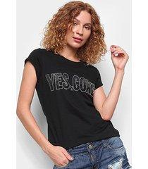camiseta coca cola yes coke feminina - feminino