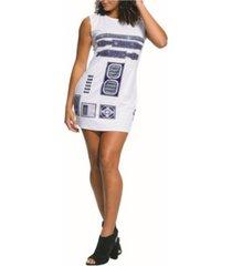 buyseason women's star wars r2d2 rhinestone tank dres costume