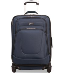 "skyway epic 20"" expandable carry-on spinner suitcase"