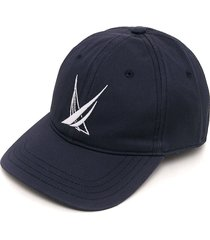gorra azul-blanco nautica