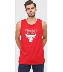 regata new era chicago bulls nba vermelha
