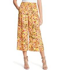 jessica simpson senna cropped wide-leg pants