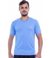 camiseta dresch 05 porus azul celeste - azul - masculino - dafiti