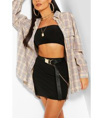 oversized balloon sleeve flanneled shirt